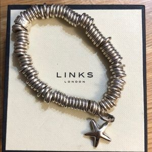 Links of London Bracelet and Charm